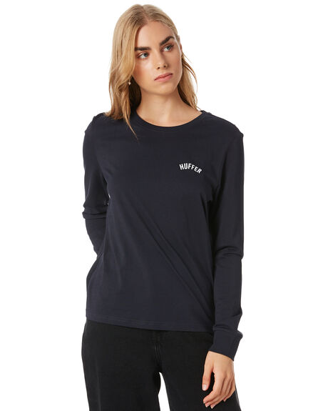 NAVY WOMENS CLOTHING HUFFER TEES - WLS02S7712NAVY
