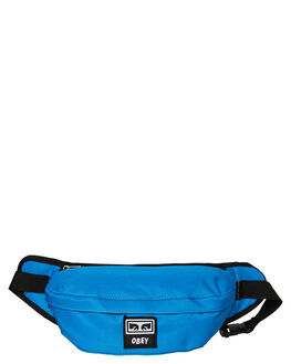 SKY BLUE MENS ACCESSORIES OBEY BAGS + BACKPACKS - 100010093SKY