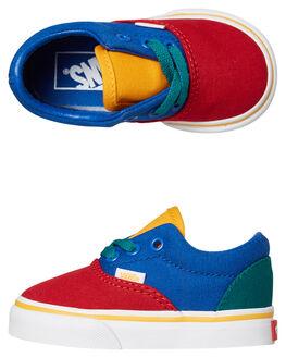 LAPIS BLUE KIDS BOYS VANS FOOTWEAR - VNA38EBVIKLBLU