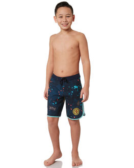 BLUE FORCE KIDS BOYS HURLEY BOARDSHORTS - BQ2521474