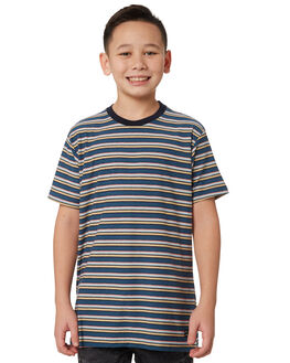 NAVY KIDS BOYS BILLABONG TOPS - 8595003NAV