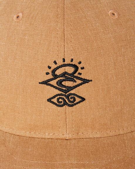KHAKI MENS ACCESSORIES RIP CURL HEADWEAR - CCACA90064