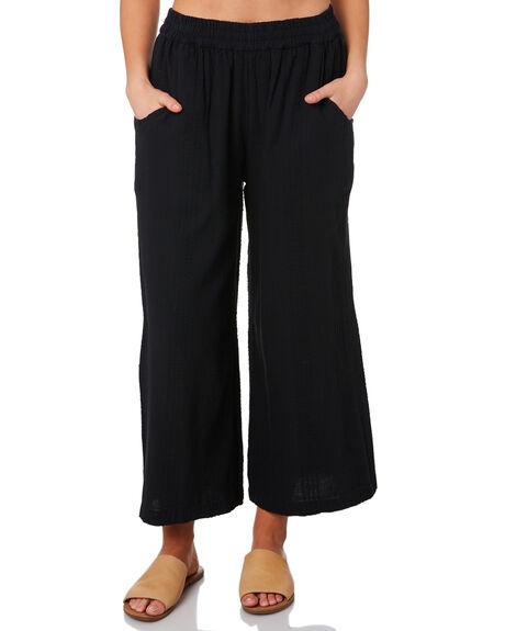 BLACK WOMENS CLOTHING RIP CURL PANTS - GPAET10090