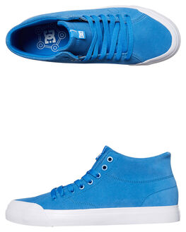 BLUE MENS FOOTWEAR DC SHOES SNEAKERS - ADYS300423445