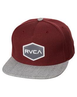TAWNY MENS ACCESSORIES RVCA HEADWEAR - R361573ETAW