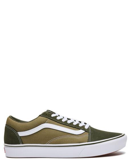 GREEN MENS FOOTWEAR VANS SNEAKERS - VN0A3WMAWX3GRN