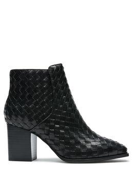 BLACK WOMENS FOOTWEAR SOL SANA BOOTS - SS202W424BLK