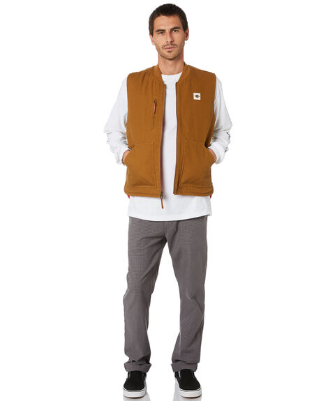 SILVERADO COPPER MENS CLOTHING BRIXTON JACKETS - 03260SILCO