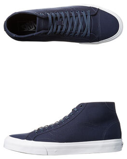 DRESS BLUES MENS FOOTWEAR VANS SNEAKERS - VN-04A6F8RBLU
