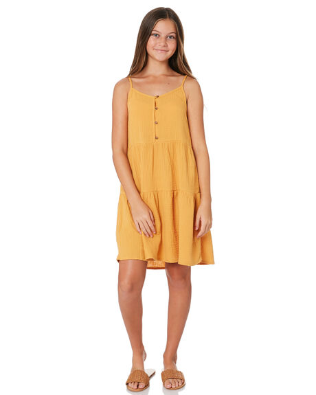 HONEY KIDS GIRLS EVES SISTER DRESSES + PLAYSUITS - 9541069YLW