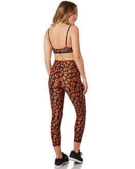 LEOPARD MULTI WOMENS CLOTHING THE UPSIDE ACTIVEWEAR - USW219054LEO