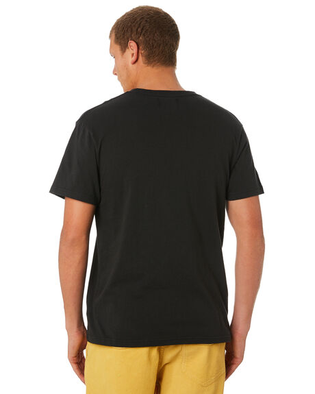 GREEN BLACK OUTLET MENS THE CRITICAL SLIDE SOCIETY TEES - TE18187GRNBK