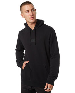 BLACK MENS CLOTHING RVCA JUMPERS - R181153BLK