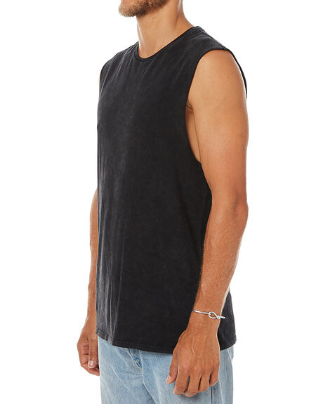 BLACK MENS CLOTHING SWELL SINGLETS - S5164273BLK