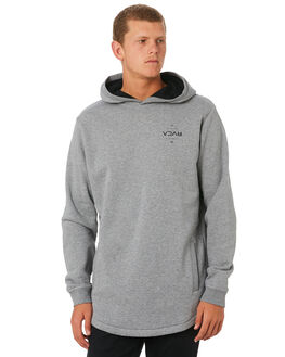GREY MARLE MENS CLOTHING RVCA JUMPERS - R193151GRYML