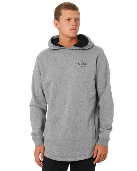 GREY MARLE MENS CLOTHING RVCA JUMPERS - R193151GRYML