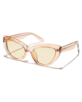 TRANSPARENT CHAMPAGNE WOMENS ACCESSORIES BOND EYE SUNGLASSES - BES001CHA