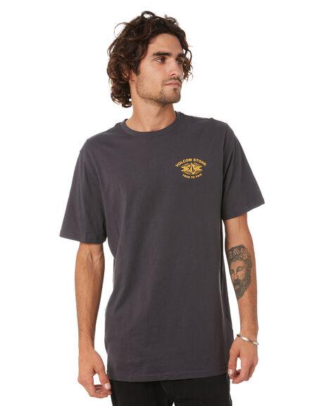 ASPHALT BLACK MENS CLOTHING VOLCOM TEES - A5002033APBLK
