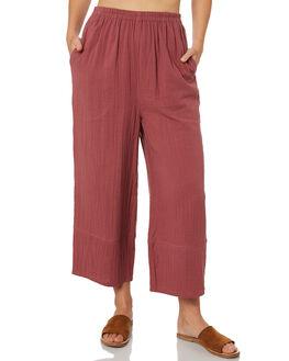 VINTAGE PLUM WOMENS CLOTHING BILLABONG PANTS - 6581402VPL