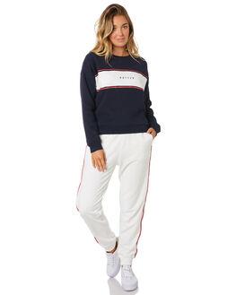 NAVY WOMENS CLOTHING HUFFER JUMPERS - WCR91S4702NAV