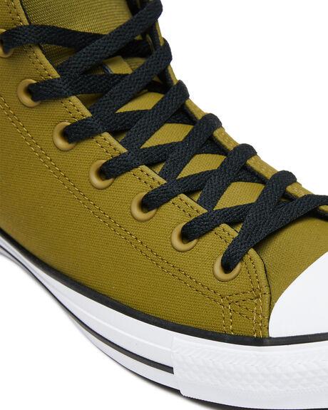 DARK MOSS MENS FOOTWEAR CONVERSE SNEAKERS - 168711CDMOSS
