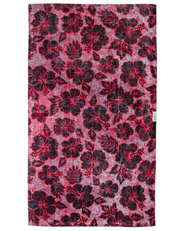 RED MENS ACCESSORIES LEUS TOWELS TOWELS - 02PRCCRDRED