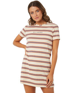 HONEY MUSTARD WOMENS CLOTHING BILLABONG DRESSES - 6572494XHONEY