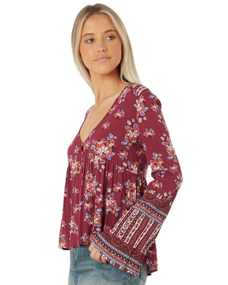 BERRY OUTLET WOMENS SWELL FASHION TOPS - S8173167BERRY