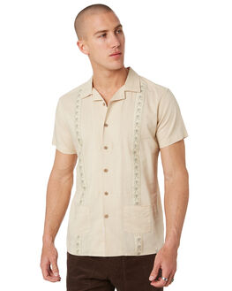 BISCUIT MENS CLOTHING THE CRITICAL SLIDE SOCIETY SHIRTS - SS1866BSCT