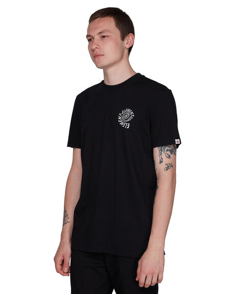 FLINT BLACK MENS CLOTHING ELEMENT TEES - EL-107013-IFL