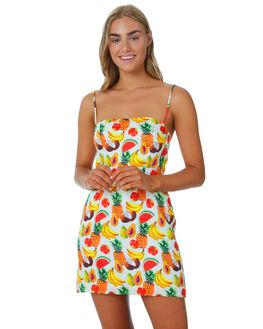 FRUITS WOMENS CLOTHING COOLS CLUB DRESSES - 211-CW5FRTS