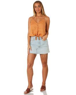 SUNBURN WOMENS CLOTHING RHYTHM FASHION TOPS - JUL19W-WT01SUN