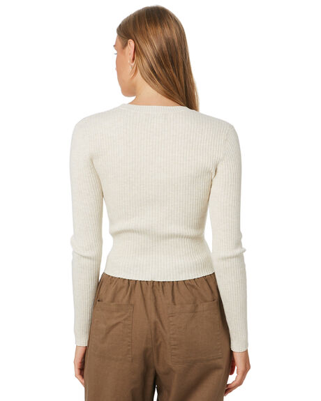 SNOW WOMENS CLOTHING NUDE LUCY KNITS + CARDIGANS - NU23852SNOW