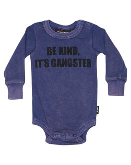BLUE KIDS BABY ROCK YOUR BABY CLOTHING - BBB1812-BKBLU