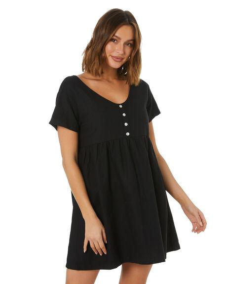 BLACK WOMENS CLOTHING SWELL DRESSES - S8212442BLACK