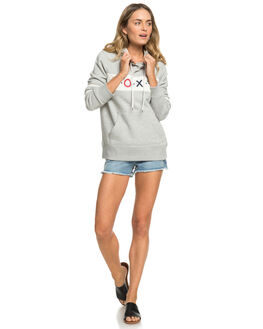 HERITAGE HEATHER WOMENS CLOTHING ROXY JUMPERS - ERJFT03925-SGRH