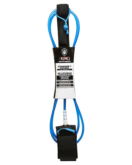 BLUE WHITE SURF HARDWARE FAR KING LEASHES - 1287BLUWHI