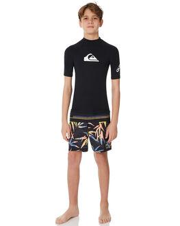 BLACK BOARDSPORTS SURF QUIKSILVER BOYS - UQBWR03012KVJ0