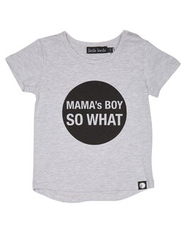 MARLE GREY KIDS TODDLER BOYS LITTLE LORDS TEES - SS18042MGRY