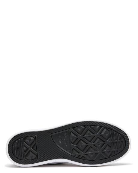 BLACK WOMENS FOOTWEAR CONVERSE SNEAKERS - 568497CBLK