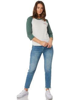 WHITE MOSS WOMENS CLOTHING WRANGLER TEES - W-951419-LI9