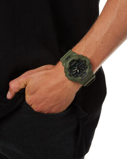 OLIVE MENS ACCESSORIES G SHOCK WATCHES - GA700UC-3AOLV