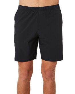 BLACK MENS CLOTHING DEPACTUS SHORTS - D5202231BLACK