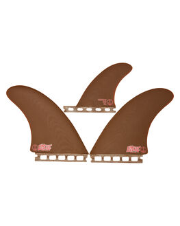 BROWN BOARDSPORTS SURF CAPTAIN FIN CO. FINS - CFF2411800BRN
