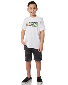 WHITE KIDS BOYS HURLEY TOPS - BQ1507100