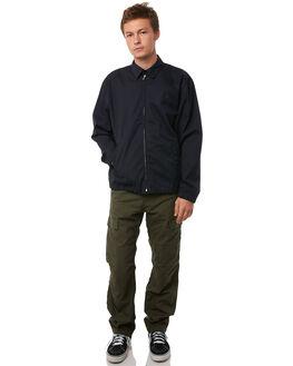 DARK NAVY MENS CLOTHING CARHARTT JACKETS - I0239701C