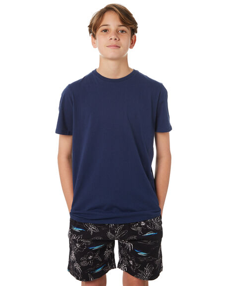 NAVY KIDS BOYS SWELL TEES - S3183004NAVY