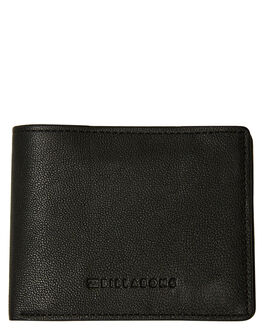 BLACK GRAIN MENS ACCESSORIES BILLABONG WALLETS - 9681206ABLKGR