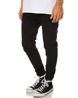 JET BLACK MENS CLOTHING NENA AND PASADENA PANTS - NPMDP001JBLK