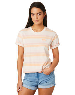 ROSE WOMENS CLOTHING AFENDS TEES - W184008ROSE